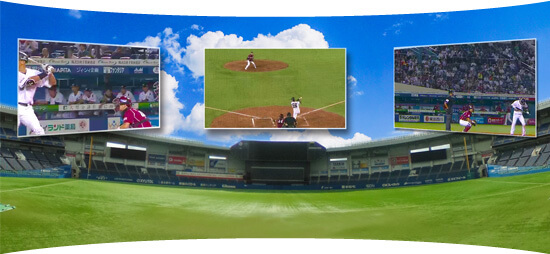VR 野球観戦 パノミル