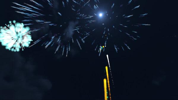 VR 花火 Fireworks Desert Blast