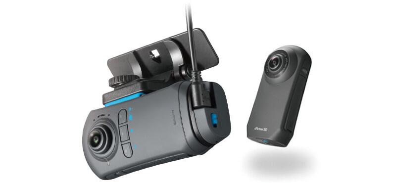 ドライブレコーダーだけじゃない、360度アクションカメラモードがさらに充実!
