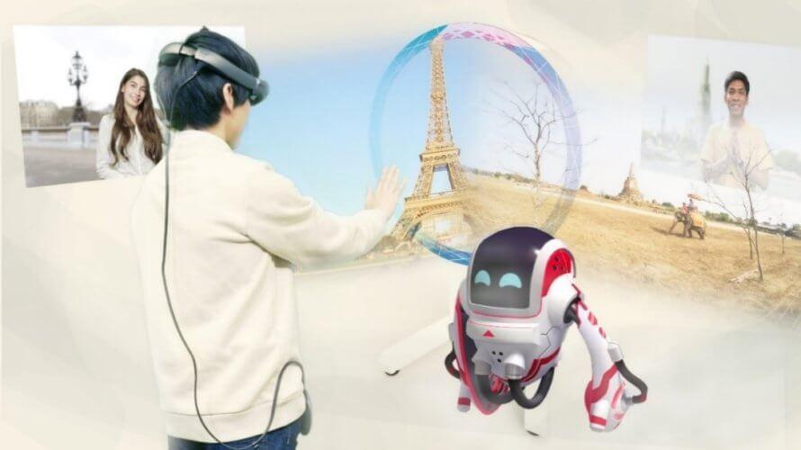 【MRコンテンツ開発】360Channel、JR東日本・NTTドコモ共催のバーチャルコミュニケーション体験イベントにて、「Magic Leap 1」を活用したMRコンテンツを開発・提供