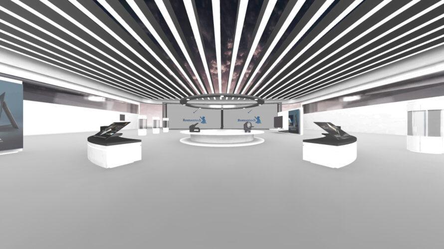 ロマンテックがオンライン開催が可能な「バーチャル展示会・バーチャルショールーム」のパッケージの提供を開始