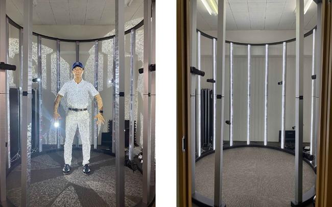 最新鋭全身3Dスキャナーをリアルアバター株式会社が販売提供開始。運搬・設置容易でスタイリッシュなシステム。全身3Dスキャンによるリアルアバター制作やアパレルや各種商品など様々な物の3Dデータ化も可能に