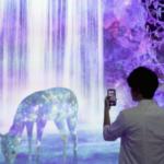 """チームラボ、スマートフォンと現実空間が相互に影響を与え合う新しいテクノロジー""""IR(Interconnected Reality:接続現実)""""を提供開始。「チームラボフォレスト」(福岡)にて体験可能"""