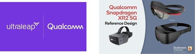 """""""UltraleapとQualcommが提携にサイン"""" Snapdragon™XR2を利用したVR/ARヘッドセットにハンドトラッキング機能を実装"""
