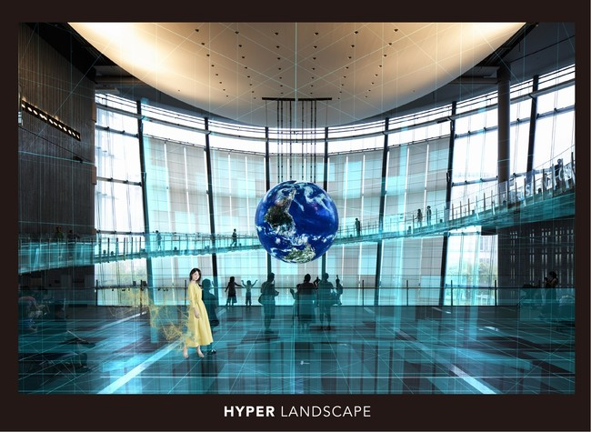 5GやVPS技術とSTYLY for Nrealを組み合わせたアプリをPsychic VR Labが開発・提供 館内のリアルな空間にARを重ねるデジタル展示「HYPER LANDSCAPE」が開催
