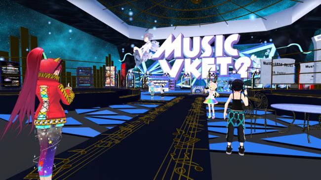 バーチャル空間の音楽展示即売会「MusicVket 2」が好評開催中! PKCZ®など著名アーティストや企業ブースも大盛況