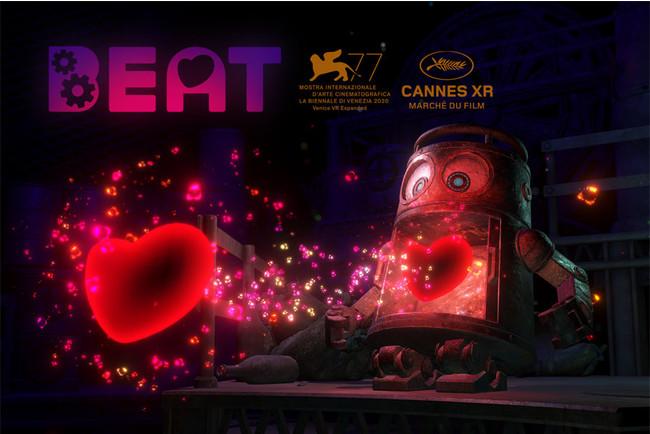 Haptics(触覚)技術を使⽤したVRアニメーション「Beat」が「Cannes XR」VeeR Future Award 2021にノミネート ~ヴェネチアに続き、カンヌでも上映が決定~