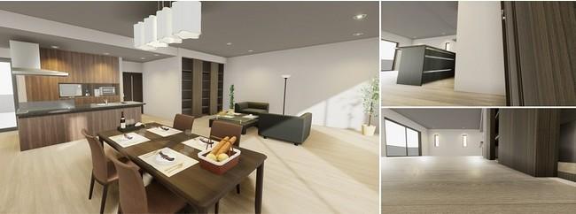 短期で導入可能な仮想空間でのマンション見学用「VRモデルルーム・ライト」を開発