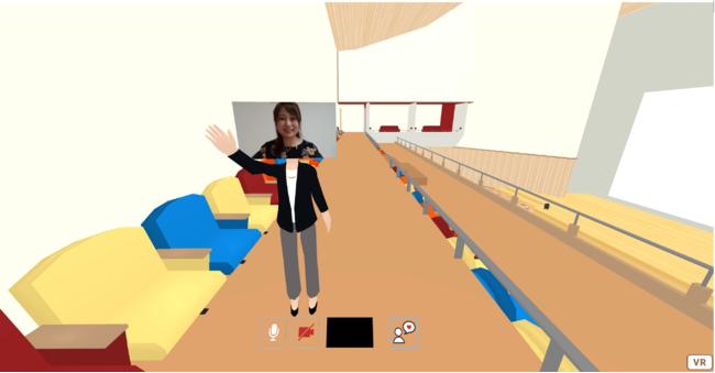 世界初! VR女性アナウンサー誕生