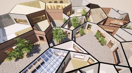 """空間が自然増殖する建築""""CELLSPACE""""NFTの特性を活かした世界初の5つの試みとは"""