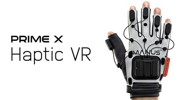 Manus VR社製、触覚フィードバックに対応したグローブ型VRデバイス「Prime X Haptic VR」を発表
