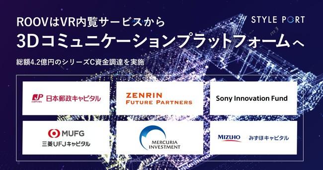 3Dコミュニケーションプラットフォーム『ROOV』のスタイルポート、新市場への展開と提供価値領域の拡大に向け総額4.2億円の資金調達を実施